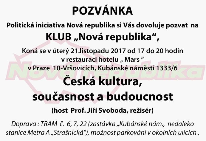 Klub NR - listopad 2017