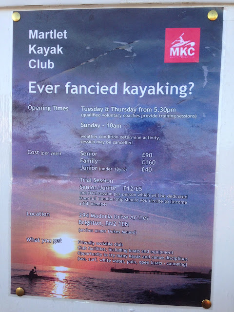 Martlet Kayak Club, Brighton