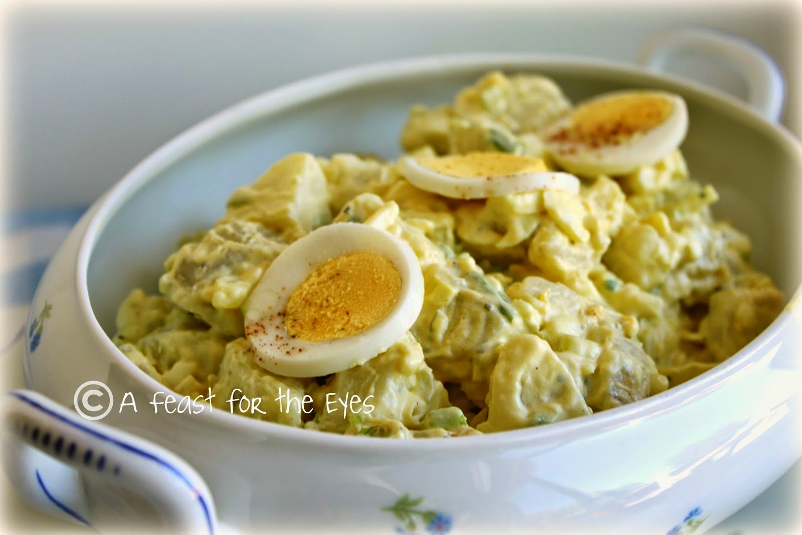 A feast for the eyes classic american potato salad adapted for classic american potato salad adapted for pressure cooking forumfinder Choice Image