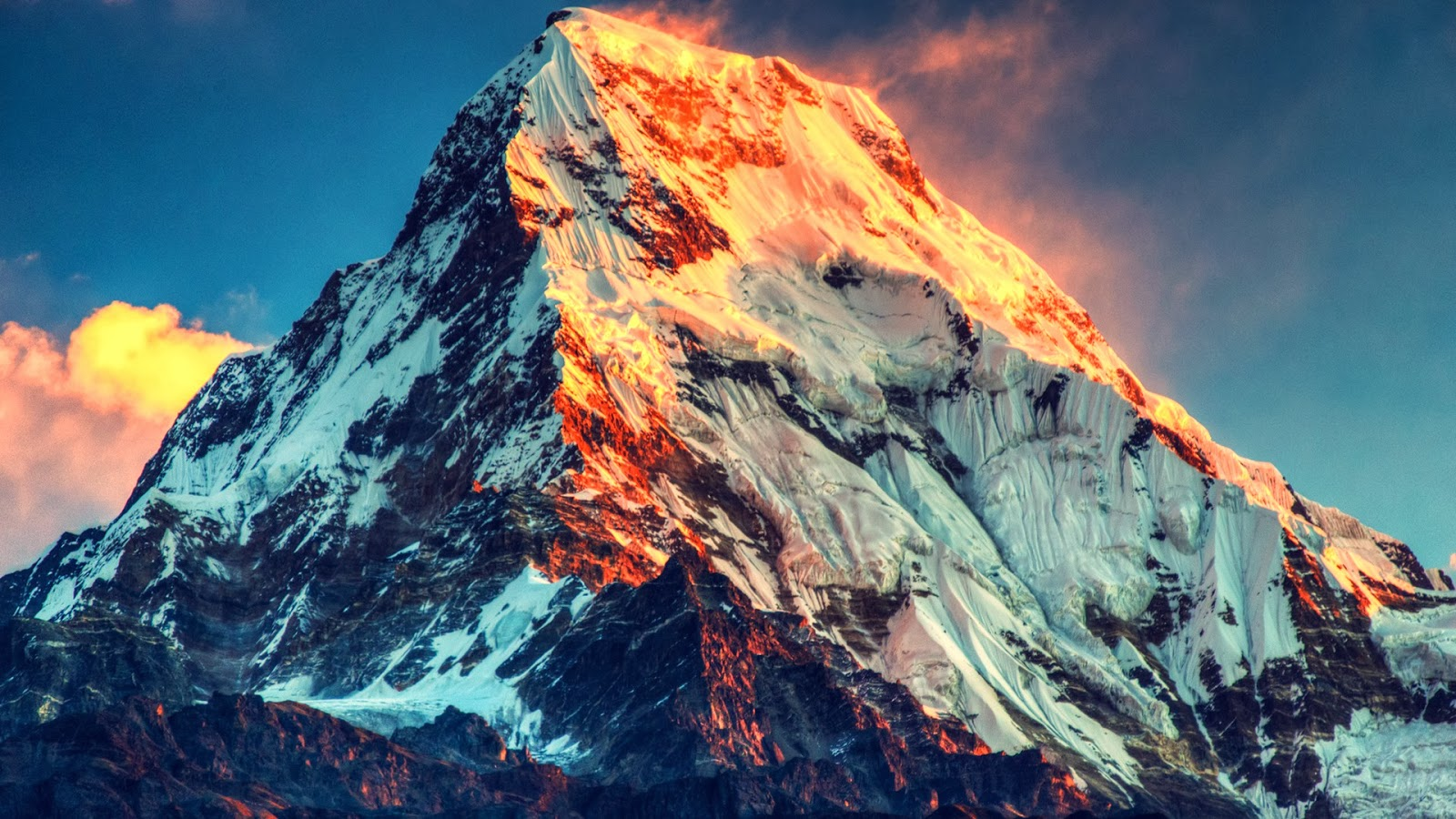 Mount Everest - 15 Highest Peaks in the World