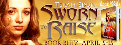 Book Blitz: Sworn to Raise (Courtlight #1) by Terah Edun