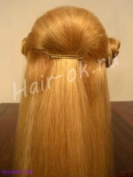 diy elegant hairstyle - idea