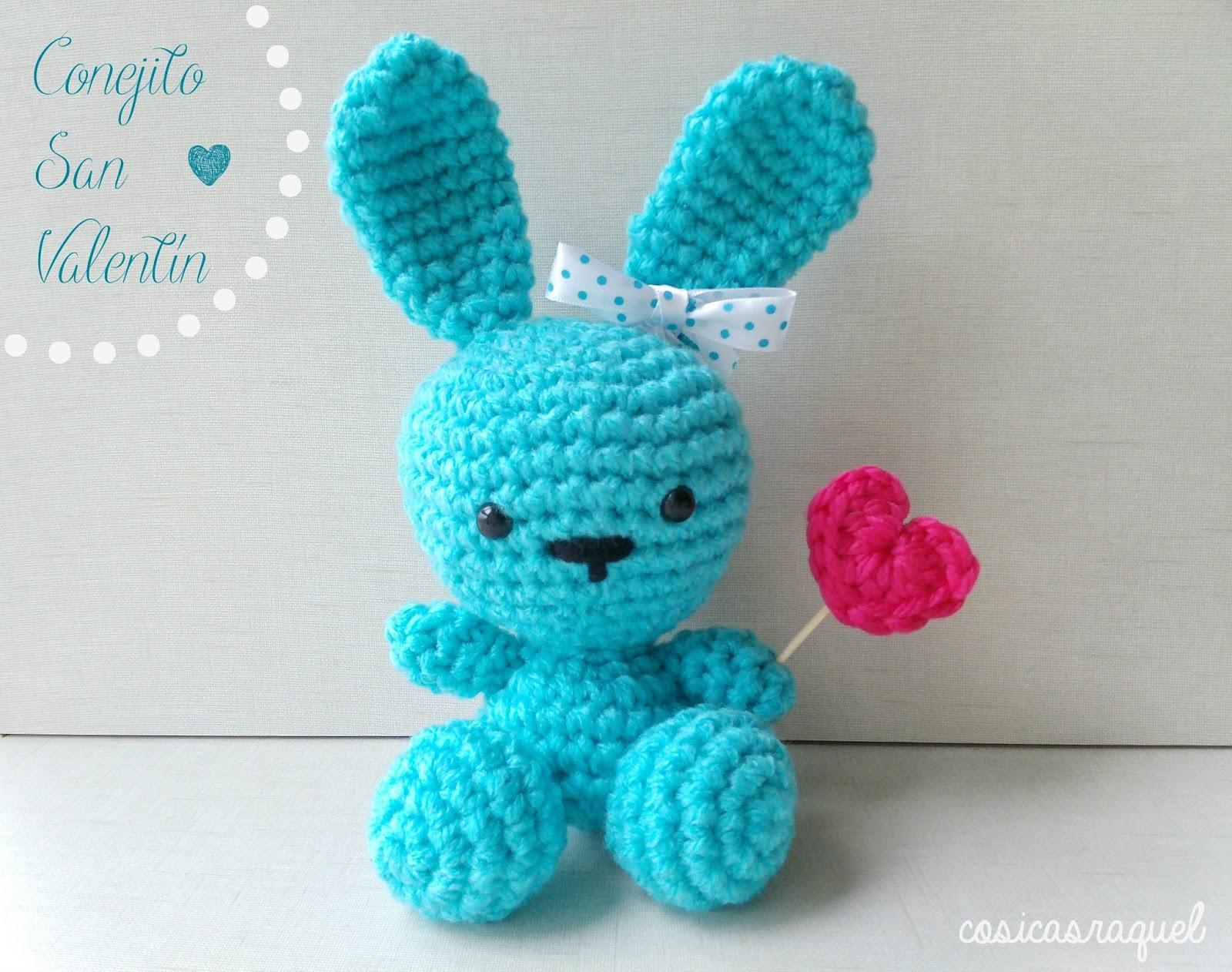 Conejito Amigurumi San Valentín - Handbox Craft Lovers | Comunidad ...