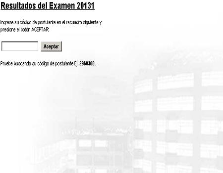 Resultados prueba admision Universidad de Lima 2013-1
