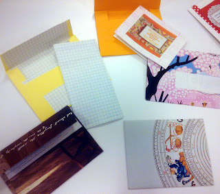 mail art by Mame at the craftgasm artisphere workshop