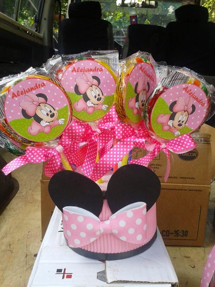 Decoracion Minnie Rosada ~ Decoracion De Cumple Minnie Rosada  newhairstylesformen2014 com
