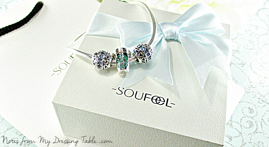 Soufeel Silver Charm Bracelet Review notesfrommydressingtable.com