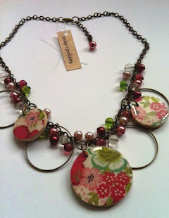 Pulp & Paisley is handcrafted decoupaged jewelry loaded with personality...