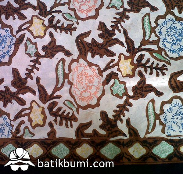 Batik cap tolet