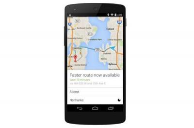 Update Google Maps untuk Android, Berikan Rute Tercepat