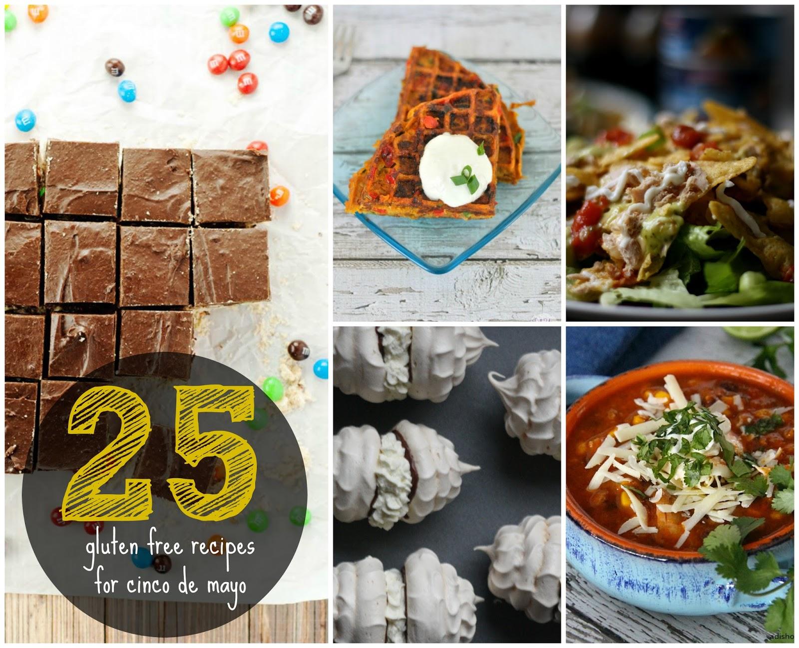 25 Gluten Free Cinco de Mayo Recipes from Anyonita-nibbles.co.uk