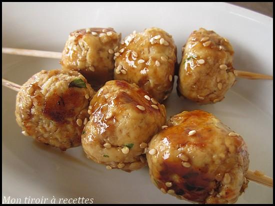 poulet yakitori