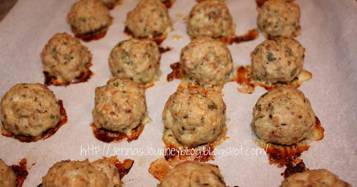 Jenna Blogs: Spicy Turkey Meatballs