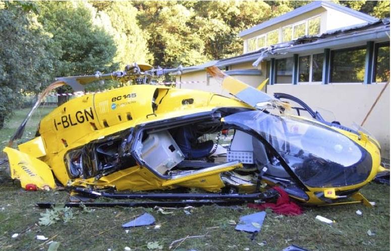 Pelikan 1 Elicottero : Emergenza sanitaria