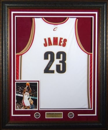 Miami Jersey Framing