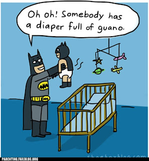 diaper full of guano batman funny 