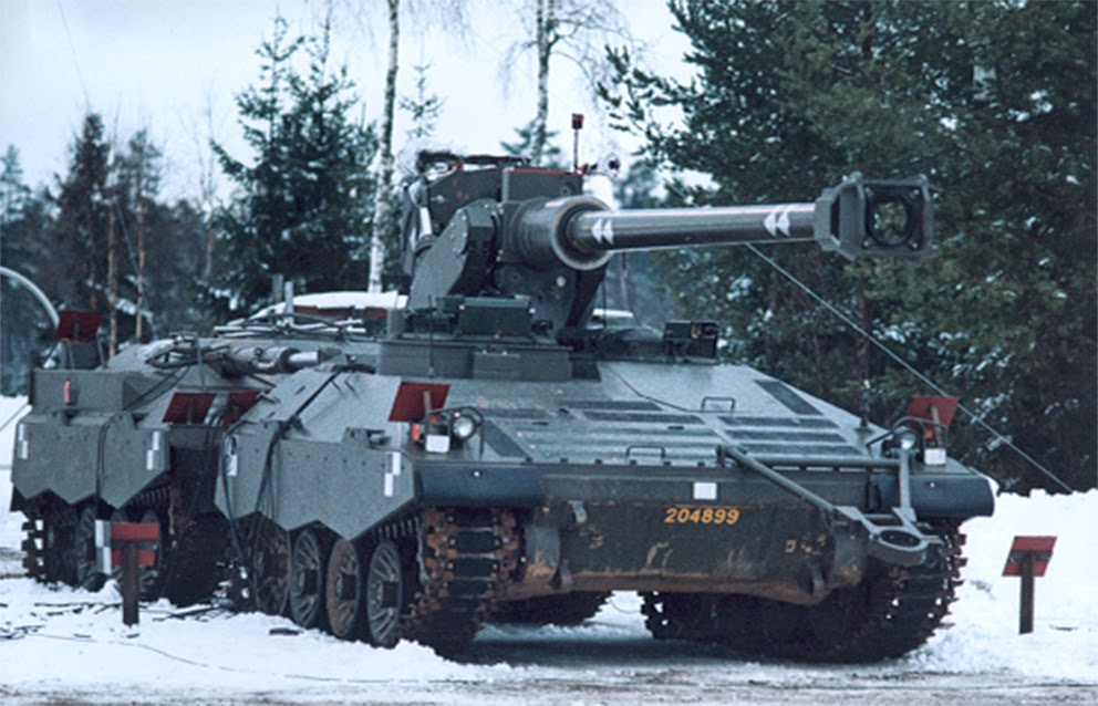 UDES XX20 Tank Destroyer on Snow - Color Photograph
