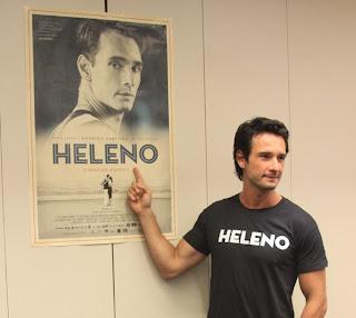 Rodrigo Santoro fala sobre o filme Heleno