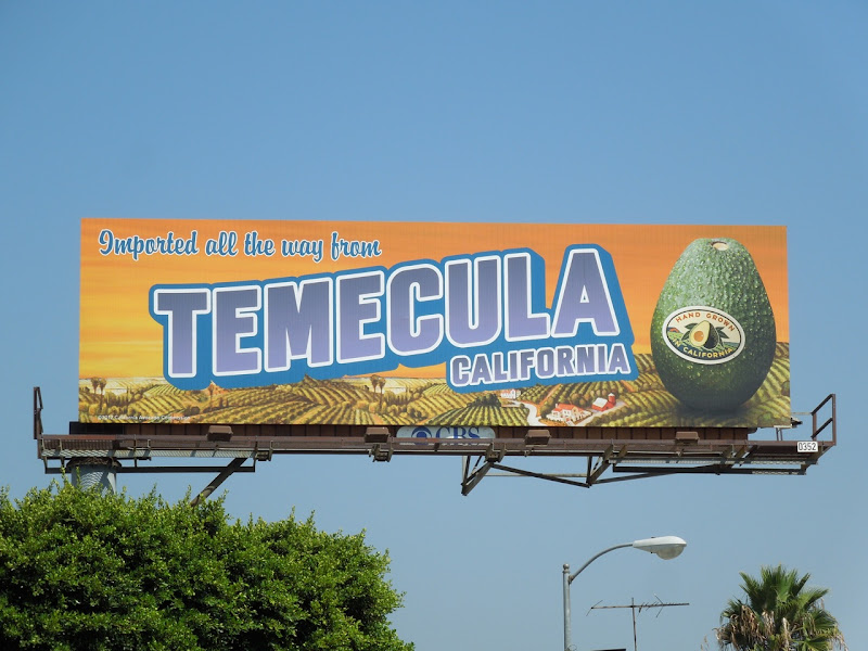 Temecula Avocado billboard