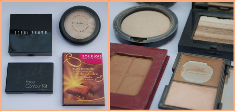 SUMMER MAKEUP BAG ESSENTIALS MAC BOBBI BROWN POWDER BRONZER