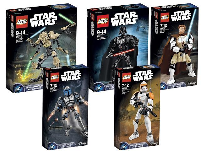 LEGO adelanta en primicia 7 de las naves de 'Star Wars: El Despertar de la Fuerza'