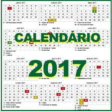 Calendário LMC 2017