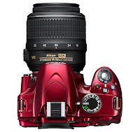 Nikon D3200 Top