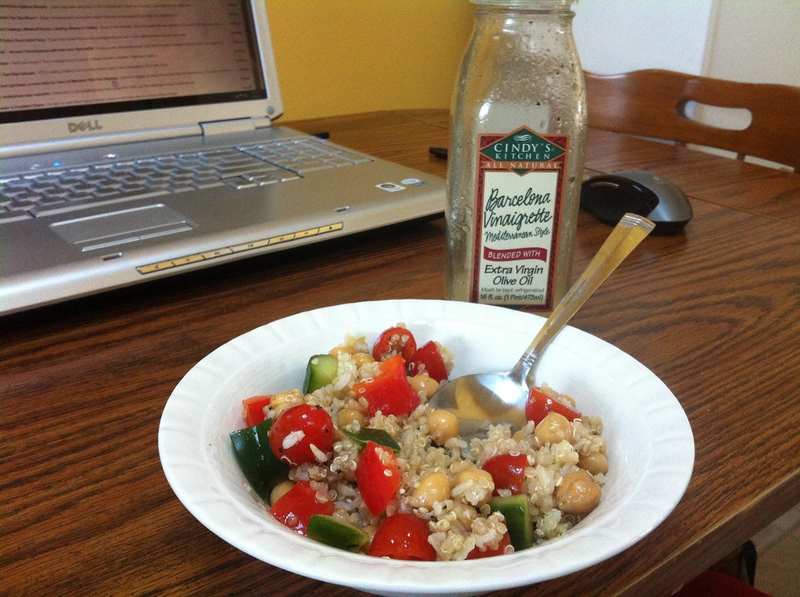 East Meets West Veg: Super Easy Chickpea Salad, Three Ways