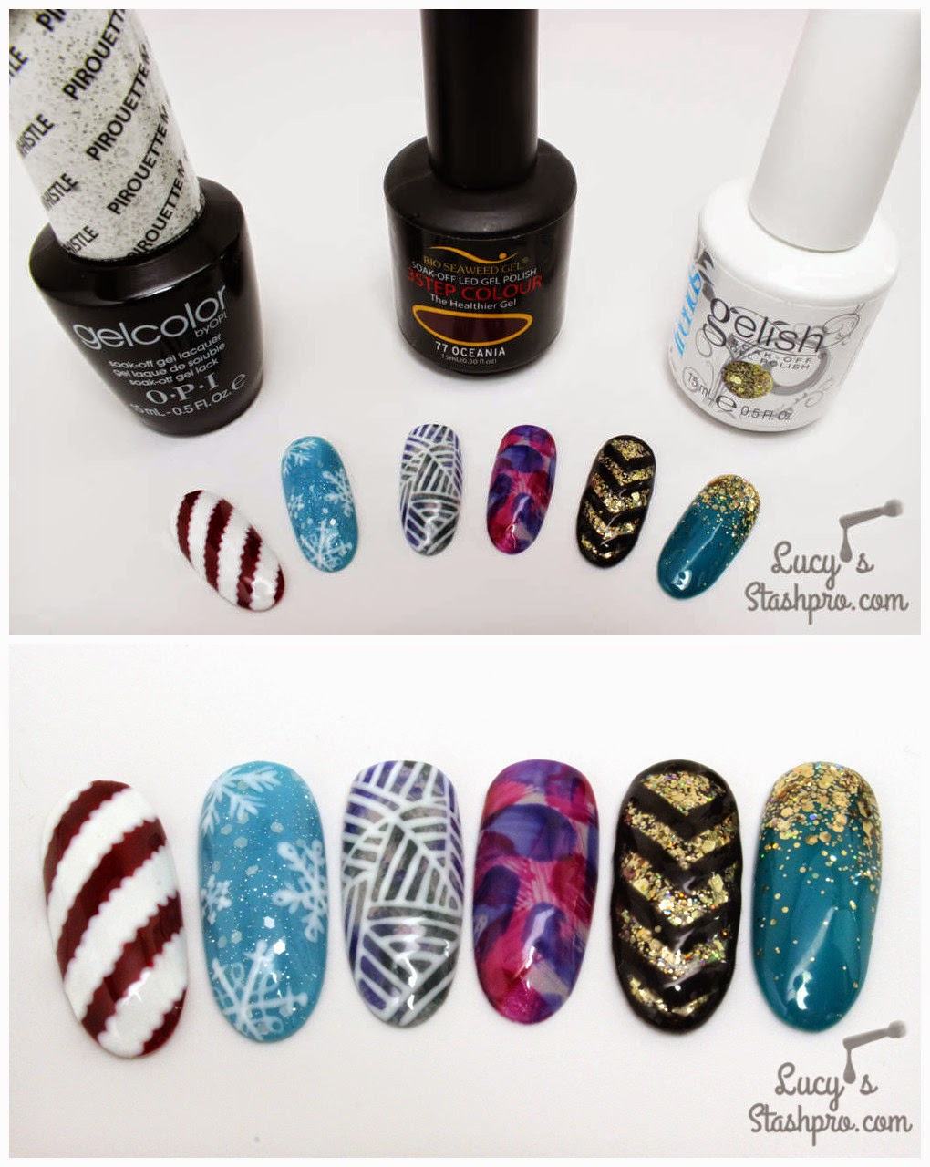 Nail Art Ideas » Gel Nail Art Step By Step - Pictures of Nail Art ...