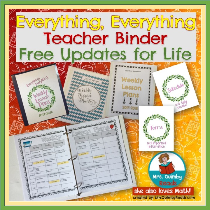 Everything Teacher Binder - Editable