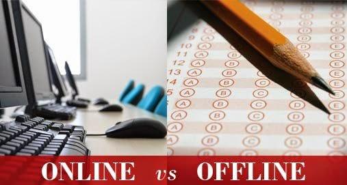 Online vs Offline Exam - Kreatryx Blog