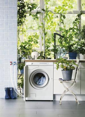 Il risparmio per la lavatrice si chiama aceto cucina green for Lavatrice balcone