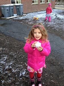 First Snowy School Day