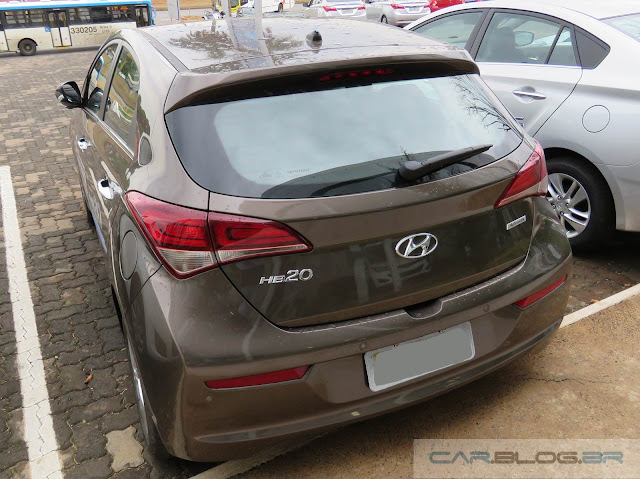 Hyundai Hb20 2016 - Marrom Metálico