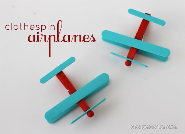 como fazer aviãozinho de palitos