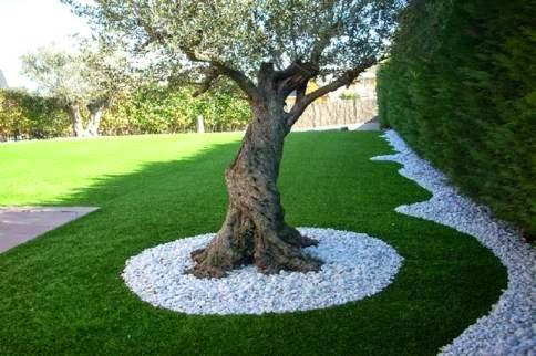 Dise o de jardines dise o de jardines utilizando arboles - Jardin con arboles ...