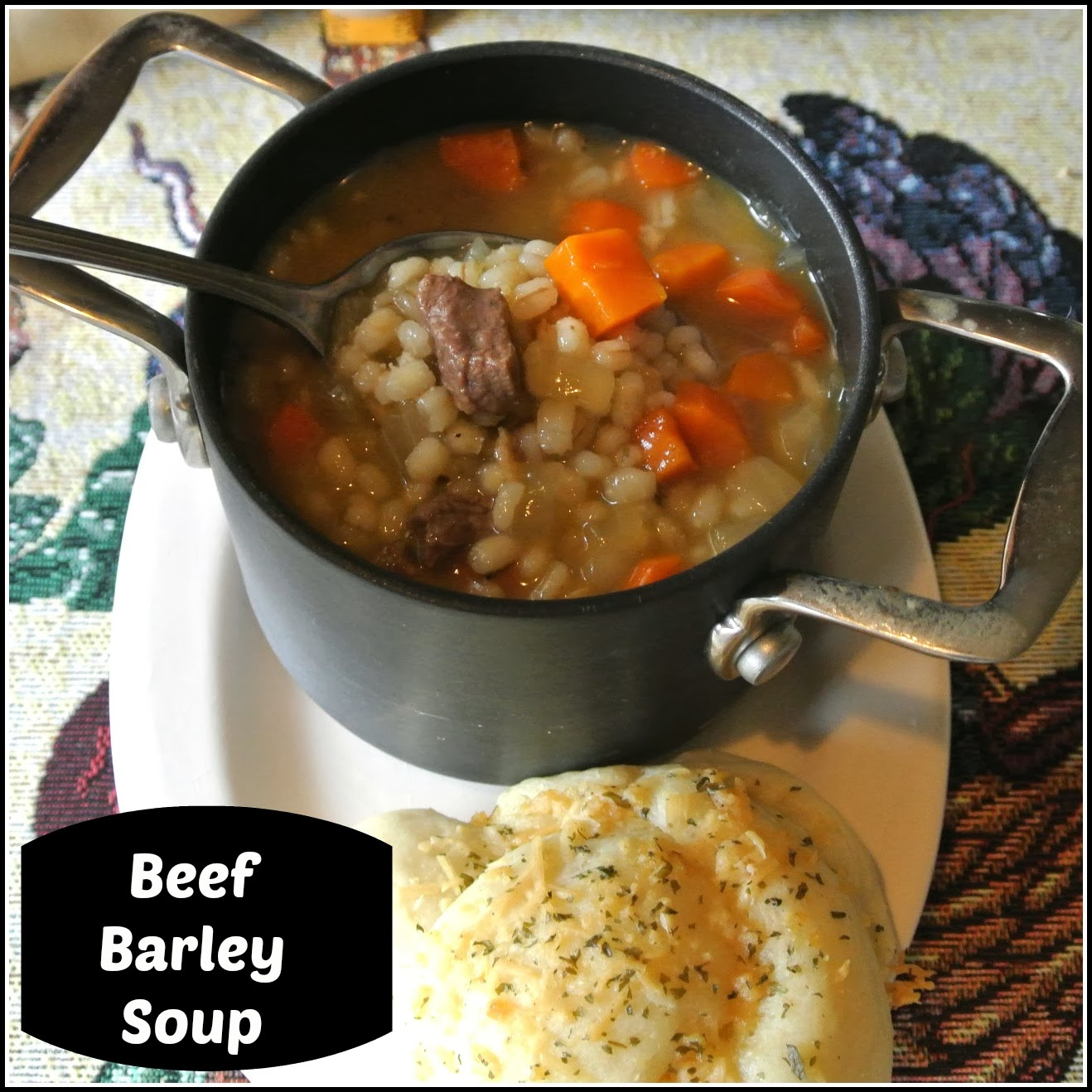 Gourmet Cooking For Two: Beef barley soup