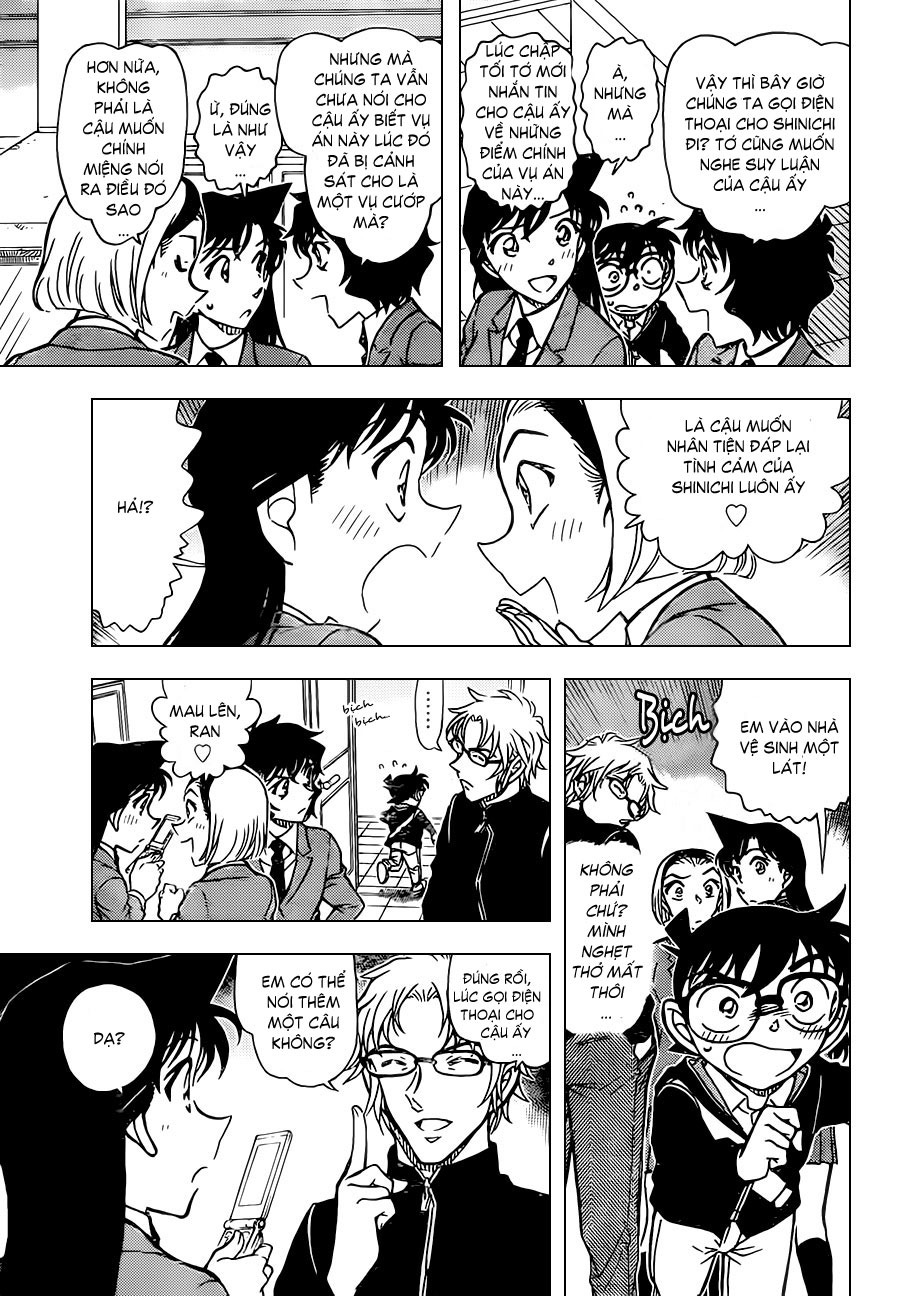 Thám Tử Lừng Danh Conan - Chapter 813 - Pic 15