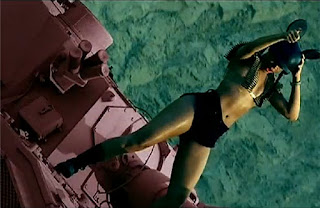 Rihanna pink tank micky mouse iconic