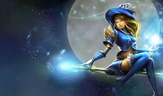 Chinese Sorceress Lux Skin
