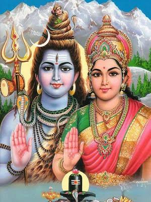 Гиперборейцы с голубым цветом кожи в традиции индуизма считаются богами.
