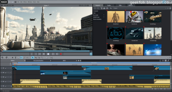 Movie Edit Pro 2015