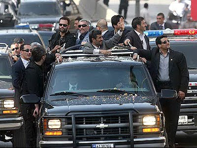 Ahmadinejad's Beirut visit