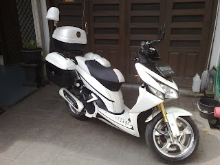 Foto Modifikasi Honda Vario Unik