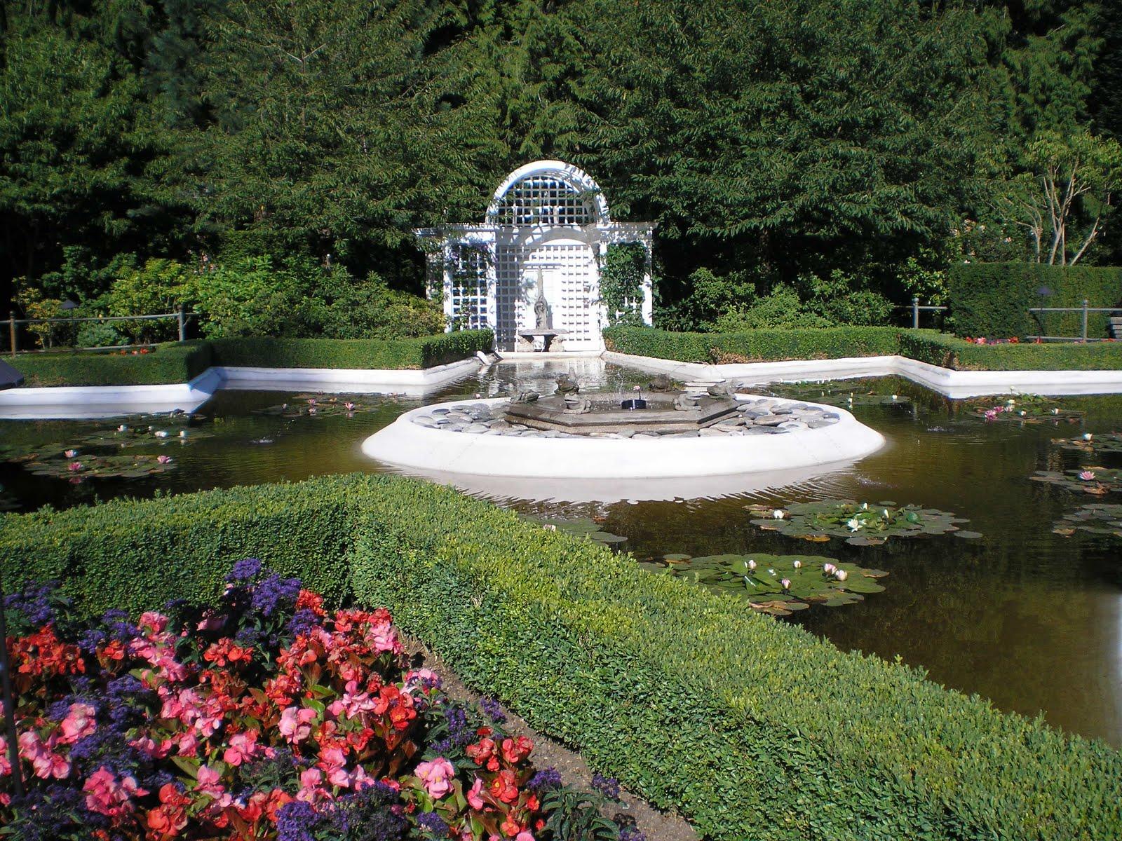 Butchart gardens isla de vancouver columbia brit nica for Jardines butchart