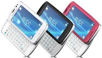 Sony Ericsson txt pro WiFi Phone