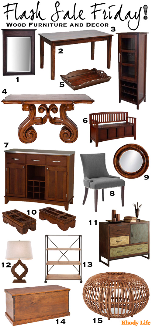 Rhody Life Flash Sale Friday Wood Furniture And Decor