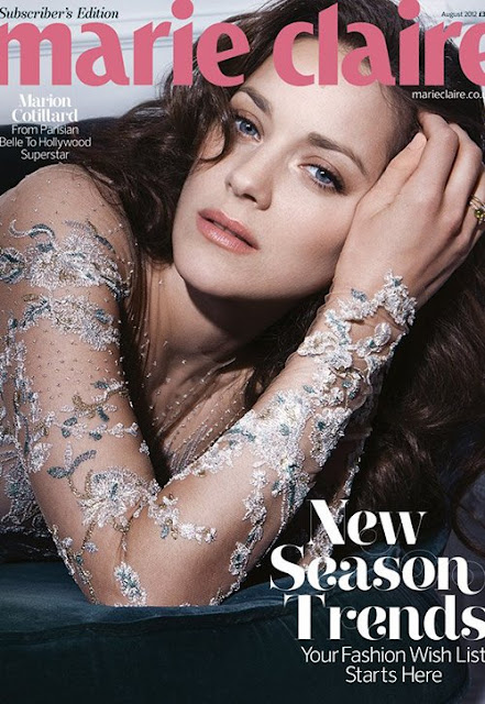 Marion-Cotillard-Covers-Marie-Claire-UK-August-2012