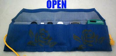 With A Blast: Blogging Gadgets Organizer   #sewing  #crafts  #storage #organization