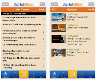 Aplikasi Kaskus for Android Direct Link